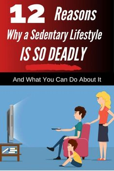 We've all heard that sitting is the new smoking, but just what does that mean? Here are 12 latest stats on the true dangers of a sedentary lifestyle. #health #fitness #exercises