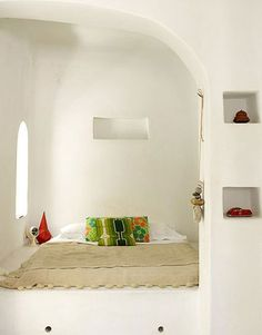 Looks so clean and a great place to have a nice dream.  Image: via Mellow Pets