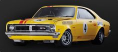 Norm Beechey's legendary GTS It simply oozes raw power and grunt. Check out he scoops under the front bumper. Holden Monaro, Vintage Racing, Vintage Cars, Holden Australia, Aussie Muscle Cars, V8 Supercars, Australian Cars, Ford Torino, Old Race Cars