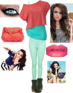 """""""Cher Lloyd Style"""" by deborahduby ❤ liked on Polyvore"""