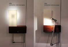 """""""Cubo"""" Sconce/Reading Lamp by Cerno    The """"Cubo"""" Wall Sconce / Reading Lamp hybrid is the LED specialists' best seller. The articulating arm features the same high-end hinges as certain industry-leading laptops.  cernogroup.com      Design: Cerno"""
