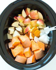 Sweet Potato & Apple Soup