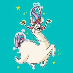 Aujourd'hui, après avoir consulté de façon purement décorative le Conseil Grumeautique des Idées Foireuses et la mémé de mon hamster, Ton Bouffon a décidé de façon unilatérale de déclarer ce jour Journée Nationale du Lama-Licorne Day au Grumeauland, parce que ça me pète comme ça et puis c'est tout. #licorne #unicorn #lama #illustration #illustratrice #dessin #drawing #bd #bandedessinee #humour #nathaliejomard #drole #funny Illustrations, Drawing, Donald Duck, Disney Characters, Fictional Characters, Snoopy, Lol, Instagram, Comme