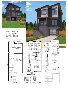 U shaped floor plans shaped home with unique floor plan for Completely open floor plans
