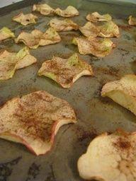 homemade baked apple chips