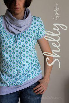 bio interlock daisy by Hamburger Liebe - pattern Shelly by Farbenmix