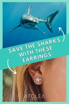 Every purchase of our ocean jewelries help save the sharks and other marine animals! Be a part of this mission. Learn more about our advocacy at atoleajewelry.com