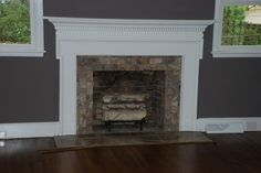 Image detail for -3805 Palmetto :: Travertine Fireplace picture by skylernimm ...