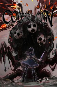 Alice and the Colossal Ruin from Alice: Madness Returns. Source unknown, leave a comment if you know who made this
