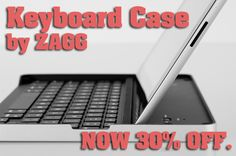 Now 30% off: Logitech Keyboard Case by ZAGG