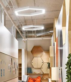 Project in New York was completed by Bright Special Lighting S.A. The Vivi Inc Kindergarten in New York City placed the profiles NOTUS 1 LINEAR LED, NOTUS 1 PL LINEAR LED & COMIS OUT OPAL with TAPE LED 9,6W/m and the lighting result was the appropriate for each space of the kindergarten. The construction made by STREAMLINE USA LLC. Architect : STREAMLINE USA LLC. Light Project, Opal, Kindergarten, New York, Construction, Ceiling Lights, Bright, Led, Lighting