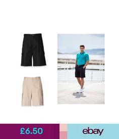 d966e76856b Henbury Mens Cargo Shorts H625 Shorts