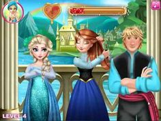 Frozen Anna Disney Frozen Anna wedding kiss videos games for kids - YouTube