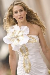 "It would be a lot of fun to wear this, don't you think? Sarah Jessica Parker ""carries"" it well."
