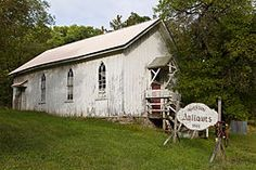 Anderson Chapel, a historic Episcopal Church located in Swanton, Maryland Deep Creek Maryland, Deep Creek Lake, Historical Landmarks, Episcopal Church, Waterfall, Shed, Exterior, Outdoor Structures, House Styles