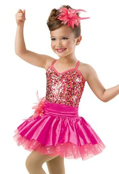 Confetti Sequin Camisole Dress; Weissman Costumes