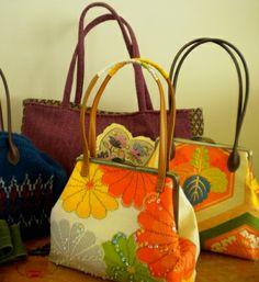 Lovely frame purses by Harujion Design