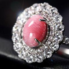 コンクパール2ct ダイヤモンド0.9ct プラチナ リング(指輪) conch pearl   http://www.rejou.jp/?pid=96994548