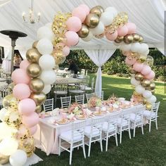 Go to this site quinceanera party planning Diy Garland, Balloon Garland, Balloon Arch Diy, Ballon Arch, Balloon Balloon, Balloon Centerpieces, Balloon Topiary, Balloon Arrangements, Balloon Backdrop