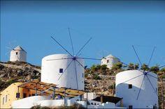 Leros Windmills, Panteli, Greece