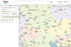 Yandex.Maps redesigned: more maps and features! #yandex
