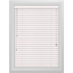 Bali Essentials 2 inch Wood Blind, Corded, Snowstorm, White