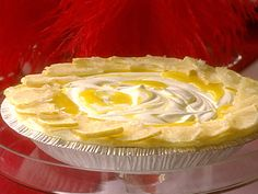 Frosty Lemon Chiffon Pie Recipe : Sandra Lee : Food Network - FoodNetwork.com