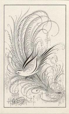 E. C. Enriquez calligraphy