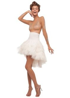 A tutu-inspired outfit from Norma Kamali's Spring 2012 collection.