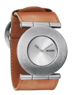 Women's Light Brown Superior Quartz Watch by Nixon.