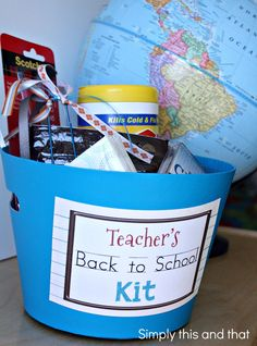 Simply This and that: Teacher's Back to School Kit