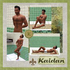 Kaidan Alenko scrapbook page