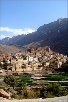 The Old Village of Balad Sayt in Oman  ....{by Bassam}