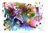 Miauw Schilderijen van Lora Zombie