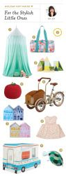 Holiday Gift Guide for The Stylish Little Ones - @smpliving picks from @ohjoy