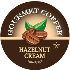 Hazelnut Cream, Single Serve Cups for Keurig K-cup Brewers, 24 Count