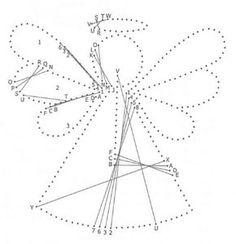 Nerinai.eu - encaje, costura, dibujos de encaje, las lecciones y consejos - Esquema I Simegrafijos