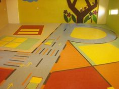 Edify school vellore (Picture 1 of 3). Vinyl customised design floors