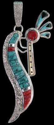 Native American Kokopelli Meaning | Harrison Jim Kokopelli Pendant