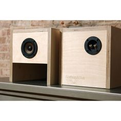 Mercer Speakers Real Wood Loudspeaker Cabinet