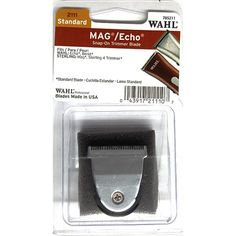 Wahl Mag / Echo Snap-On Trimmer Blade for Echo, Beret, Mag, Sterling 4 Trimmer (Standard) #2111 $12.49 Visit www.BarberSalon.com One stop shopping for Professional Barber Supplies, Salon Supplies, Hair & Wigs, Professional Product. GUARANTEE LOW PRICES!!! #barbersupply #barbersupplies #salonsupply #salonsupplies #beautysupply #beautysupplies #barber #salon #hair #wig #deals #sales #wahl #trimmer #clipper #blade #echo #beret #mag #sterling4 #2111