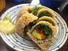 Brown Rice Vegan Sushi (+ ideas)