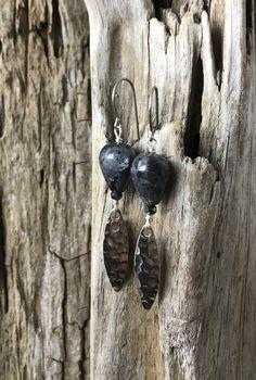 Black Moonstone Alluring Earrings