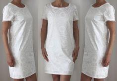 Patron de couture - Robe blanche pour femme