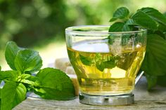 Moroccan Mint Tea: Unwind with a warm cup of this refreshing tea.