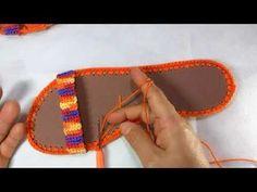 Sandália de Crochê Verão - Parte 3 - Finalização - YouTube