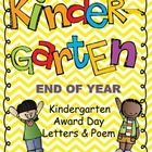 This package contains the letters that spell out K-I-N-D-E-R-G-A-R-T-E-N with cute guys on the front. I put a letter and a line of the poem on sepa...
