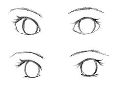 Début pour.Dessiner des yeux de manga/anime trop beau♥