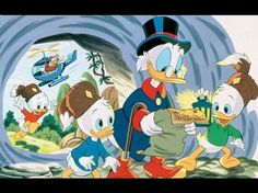 """According to an official Disney statement, a new """"DuckTales"""" cartoon is coming in and it will feature the same cast of characters from the original l Disney Xd, Disney Movies, Disney Pixar, Disney Characters, Disney Stuff, Disney Wiki, Disney Magic, New Ducktales, Disney Ducktales"""
