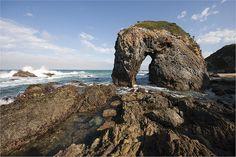 Horse Head Rock near Bermagui, New South Wales, Australia. By petetiller, via Flickr.